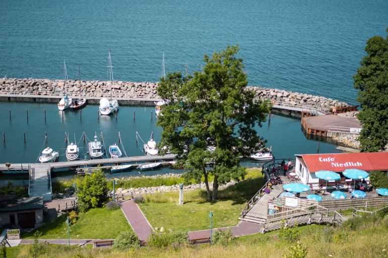 Port de Lohme sur l'île de Rügen en Allemagne