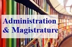 Administration et Magistrature