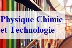 Physique Chimie et Technologie