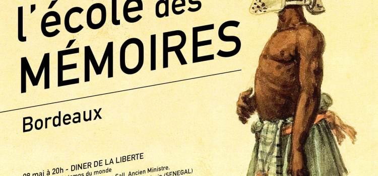 BORDEAUX du 08 au 11 mai 2015: 17ème Mémorial de la Traite des Noirs