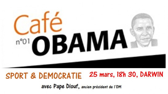 Sport & Démocratie au menu du 1er Café Obama