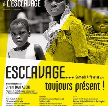 ESCLAVAGE…toujours présent – Célébration de la première abolition (BORDEAUX)