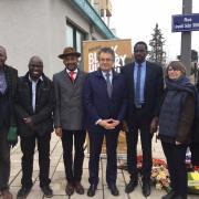 POITIERS, Acte II – La ville a rendu hommage au tirailleur  Senghor