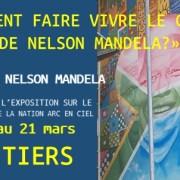 POITIERS – Le lycée Nelson Mandela accueille l'exposition sur le fondateur de la nation ARC EN CIEL