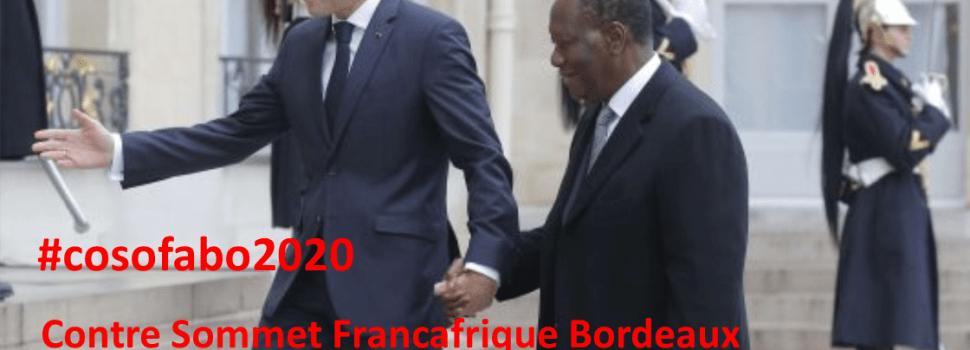 #cosofabo2020 – Appel pour un Contre-Sommet Françafrique à Bordeaux, 2 au 7 juin 2020