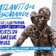 L'ATLANTIQUE NORMANDE– Mémoires antiracistes sur les murs pour faire cité commune, 27 avril – 30 mai