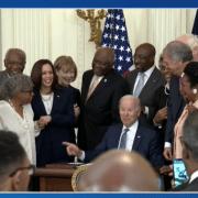 USA – Le 19 juin déclaré jour férié fédéral en mémoire de l'abolition de l'esclavage