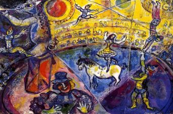 circus-horse By Marc Chagall, courtesy of MarcChagall.net