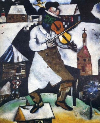 the-fiddler By Marc Chagall, courtesy of MarcChagall.net