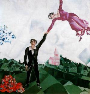 the-promenade By Marc Chagall, courtesy of MarcChagall.net