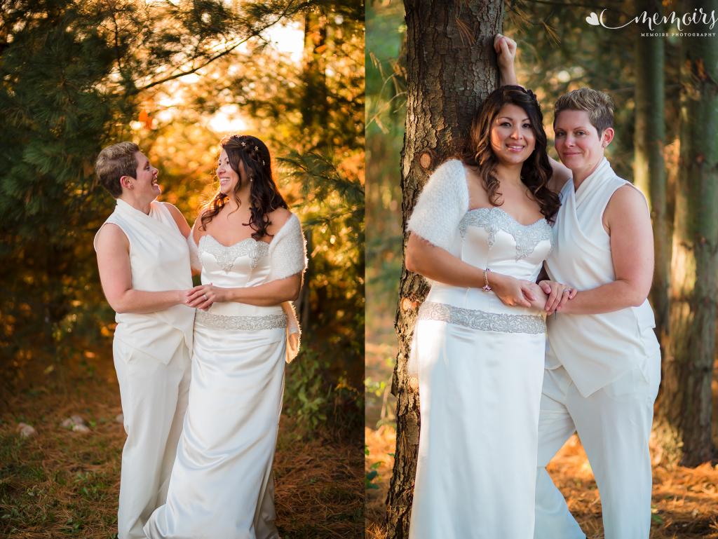 St. Clair County Backyard Wedding