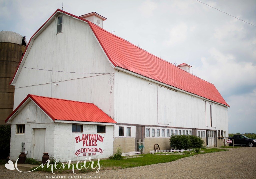 Marlette Michigan Wedding Barn