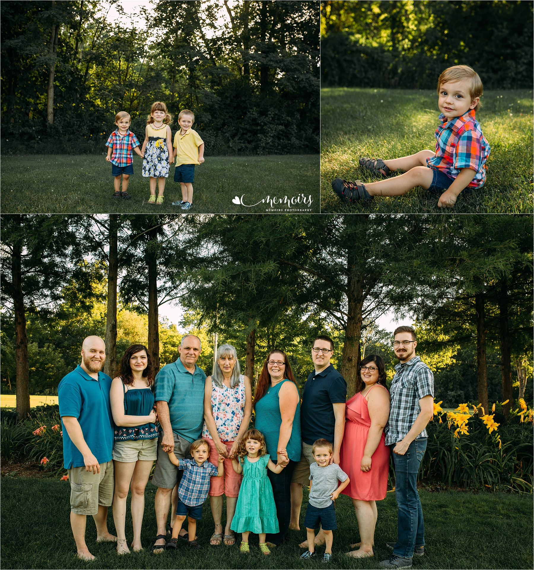 Macomb County Extended Family Photographer