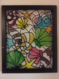 glass painting designs | Memoir's Galore