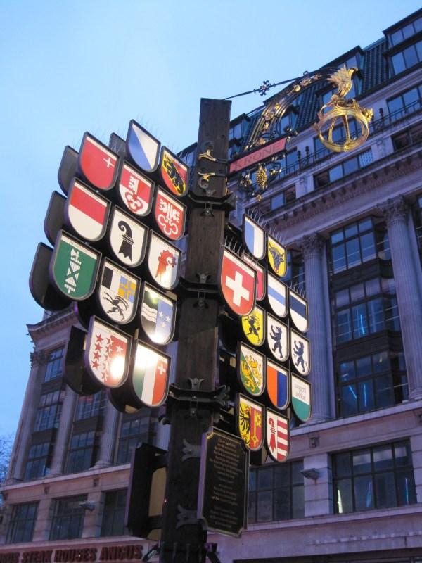Swiss Glockenspiel In Leicester Square Survivor Of Centre Memoirs