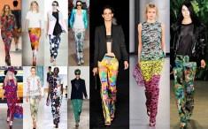 Printed Pants Spring 2012
