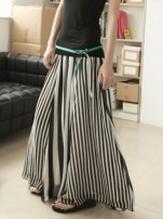 simply_chic_monochrome_chiffon_black_and_white_stripes_long_skirt_d4f64367