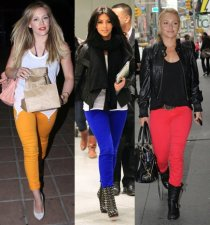 Colored-Jeans-Fashion-For-Women