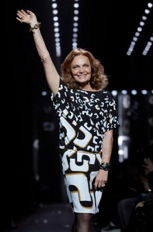 Fashion Diane von Furstenberg Fall 2013
