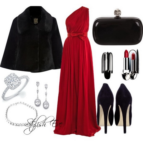 Red-Winter-2013-Outfits-for-Women-by-Stylish-Eve_09