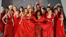 Women-wearing-red-dresses