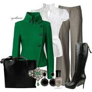 Riding inspired outfit with emerald button up jacket