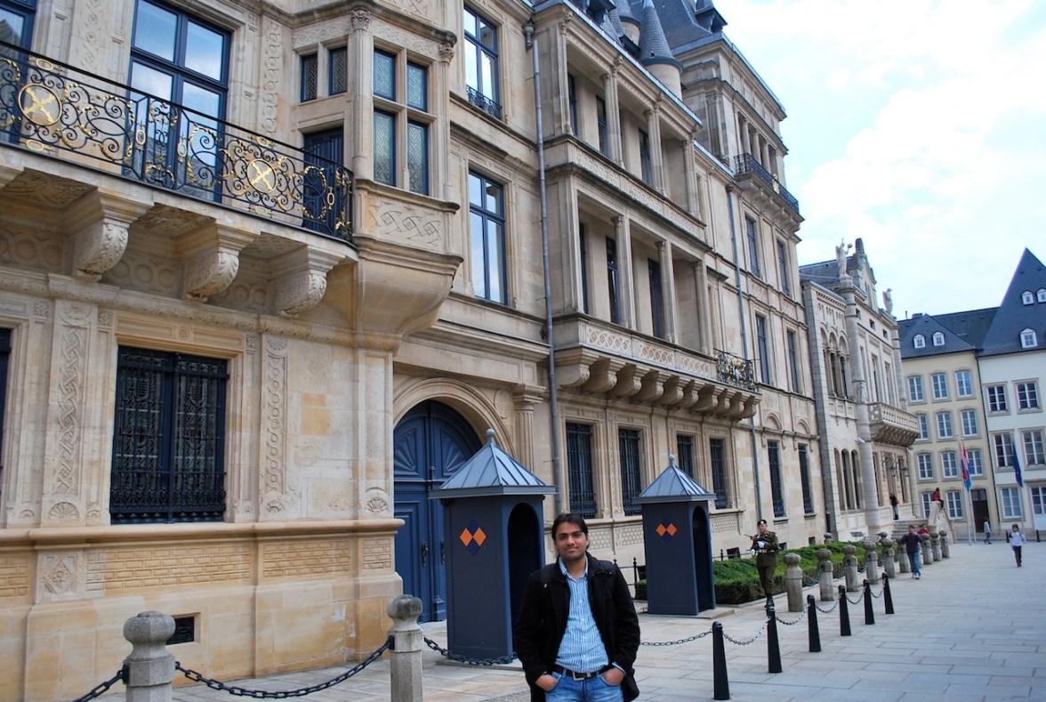 at Palais Grand Ducal