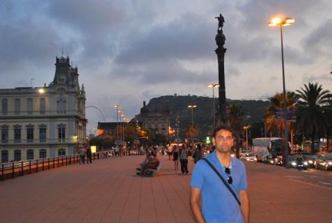 at Mirador de Colom