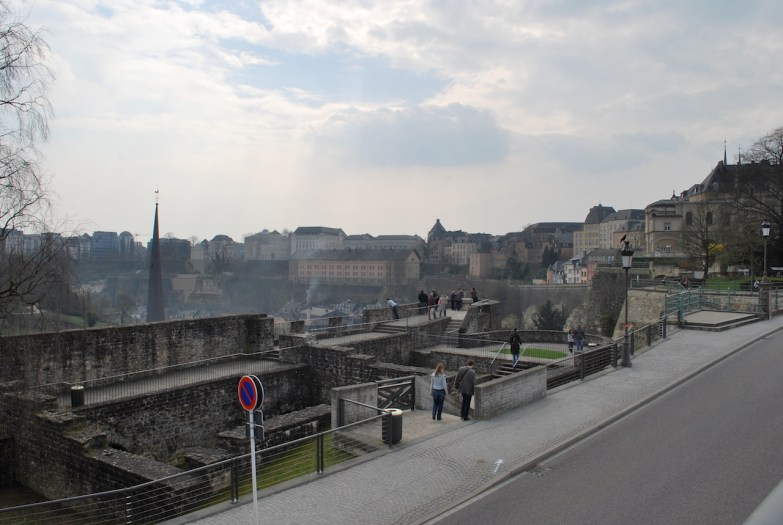 view from Casemates du bock