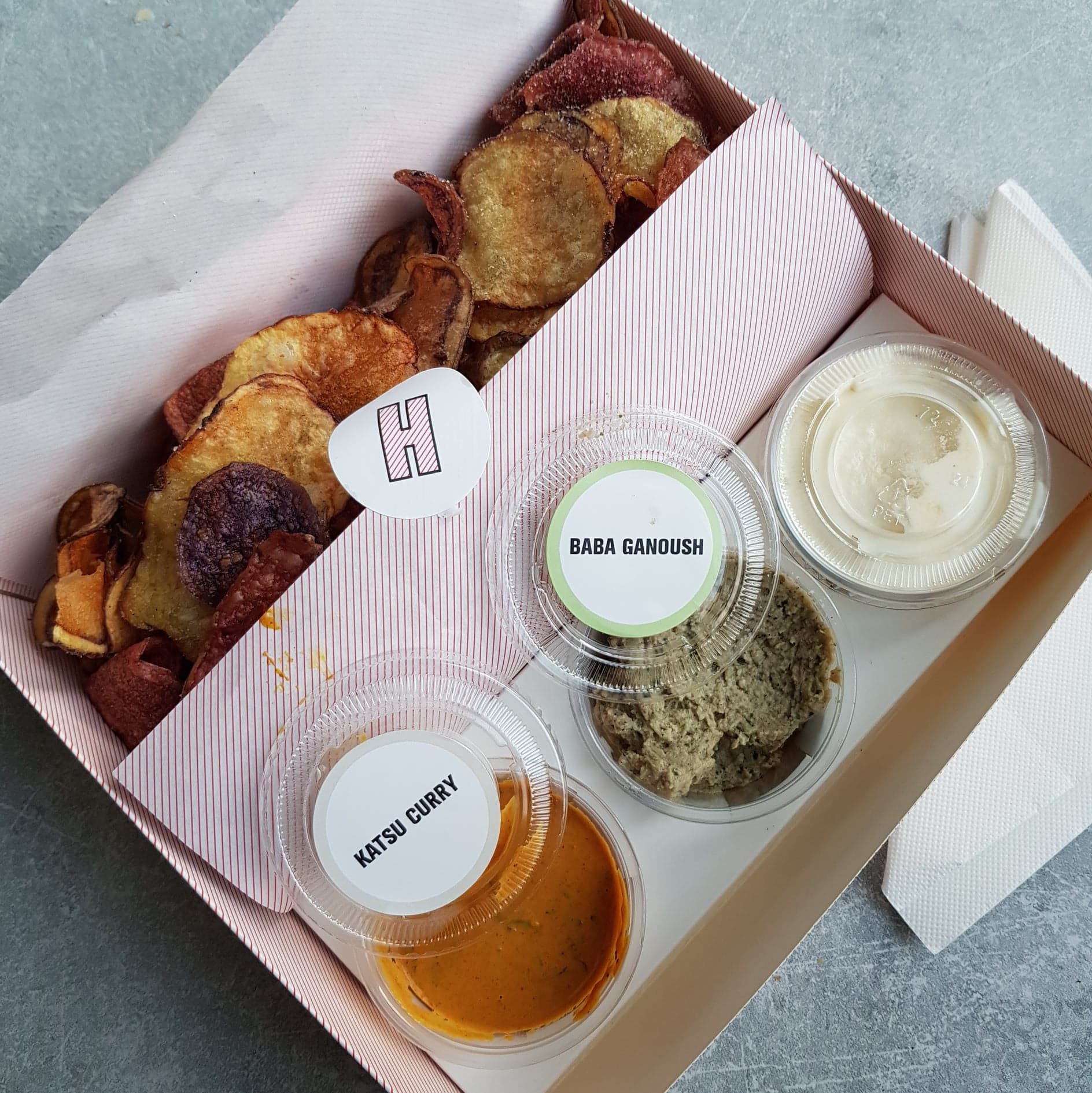 Insta Review: Hipchips , Soho. vegetarian and vegan friendly snack in London