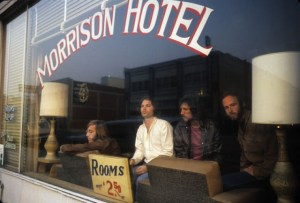 Morrison Hotel and Hard Rock Cafe today