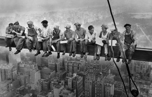 Lunch atop a Skyscraper – The site of the historical photograph in New York