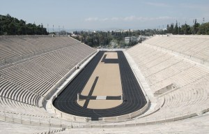 Panathenaic Stadium – The site of the first modern Olympic games in Athens