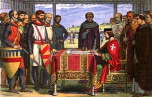 Magna Carta – Two remains of the royal charter of rights are being exhibited in London