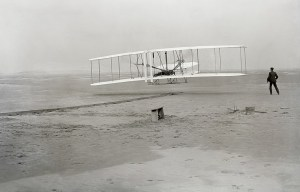 Wright Flyer – The Wright Brothers Airplane is being exhibited in Washington D.C