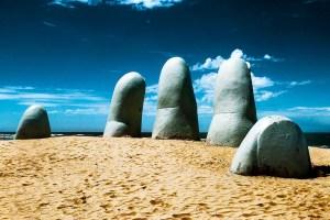 Symbol of Punta del Este