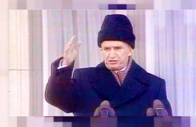 Nicolae Ceaușescu – Final speech in Bucharest