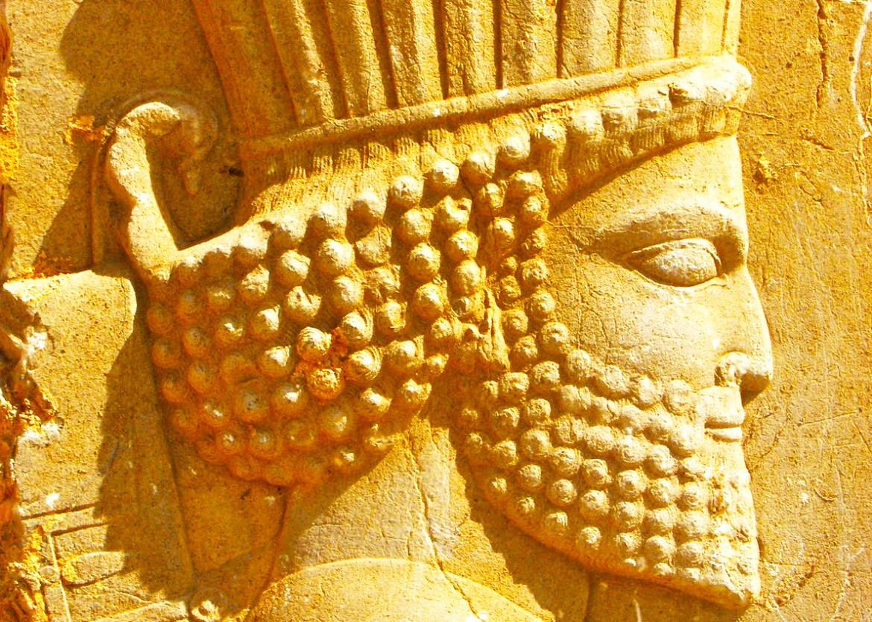 The tomb of Darius the Great in Naqsh-e Rostam