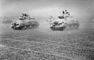 The Battle of El Alamein – Allied forces broke the Axis line in El Alamein