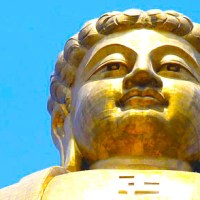 Spring Temple Buddha - The giant Buddha in Lushan