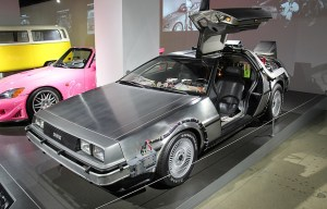 Delorean DMC-12 – The famous time travel device is being exhibited in Los Angeles