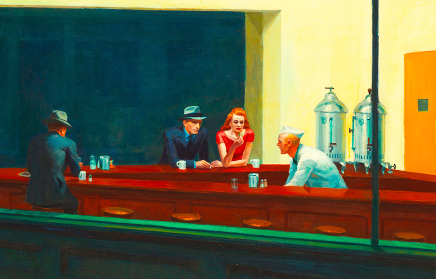 Edward Hopper – Nighthawks in New York