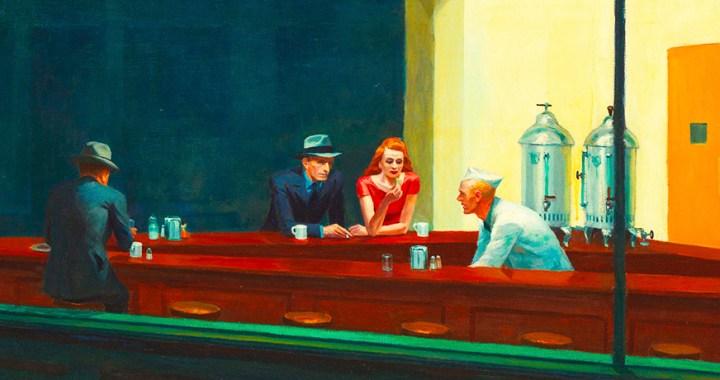 Edward Hopper – Nighthawks in New York