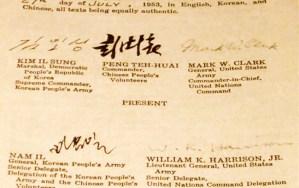 The Korean Armistice Agreement in Kaesŏng