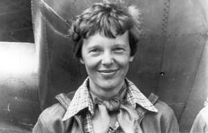 Amelia Earhart – The global female pilot disappeared in Howland Island