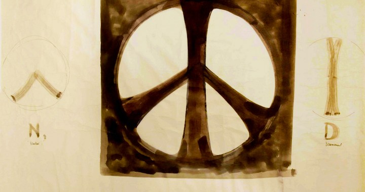 The Original Peace Symbol in London