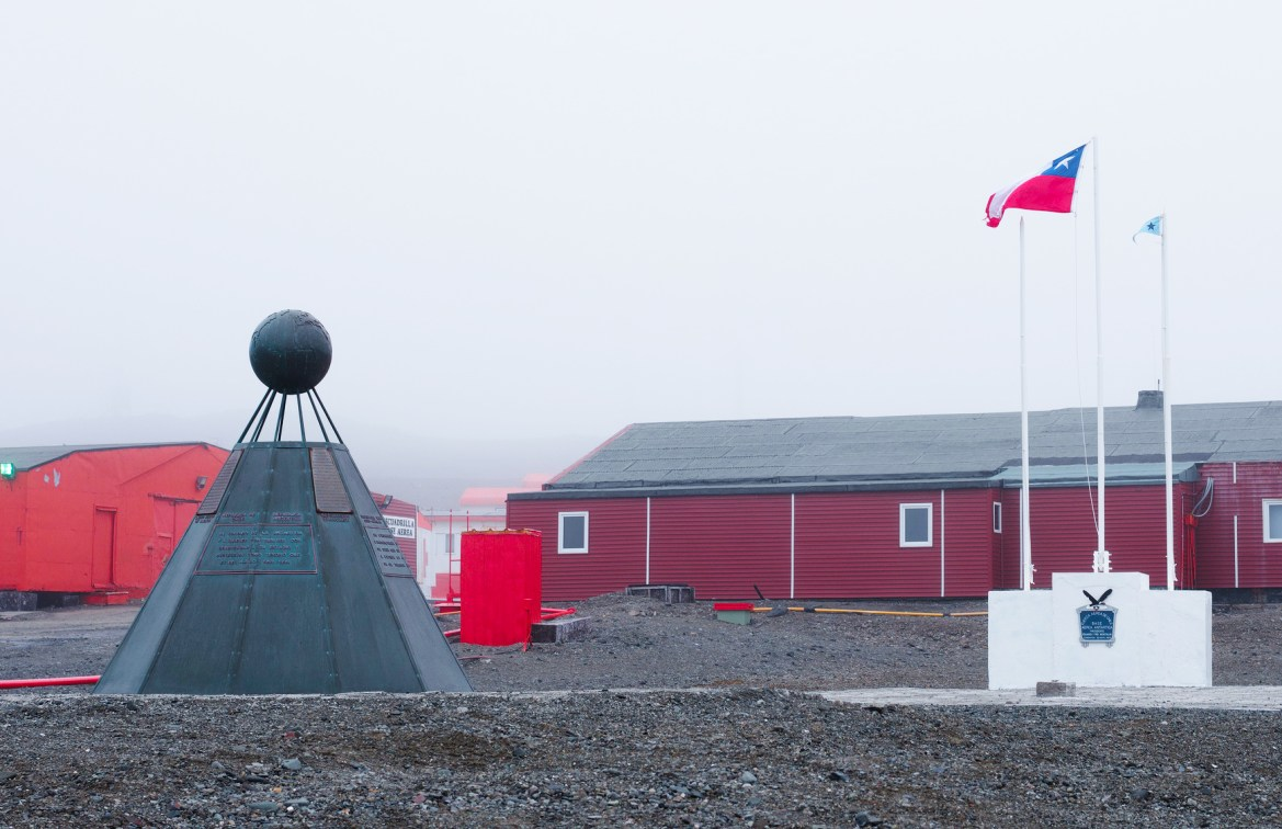 Monument to the Antarctic Treaty in King George Island
