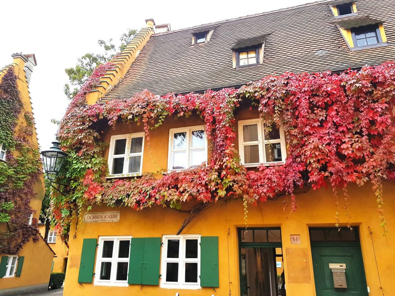 The Fuggerei in Augsburg