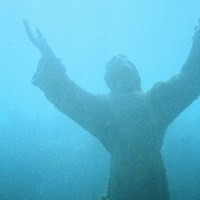 Christ of the Abyss - The submerged bronze statue of Jesus Christ in San Fruttuoso