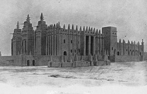 The Great Mosque of Djenné – The world's largest mudbrick structure in Djenné